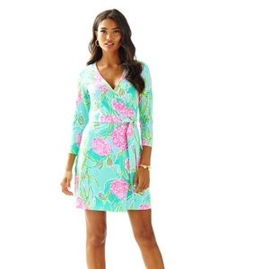 Lilly Pulitzer Meridian Printed Wrap Dress